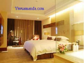 the room in yiwu international mansion hotle